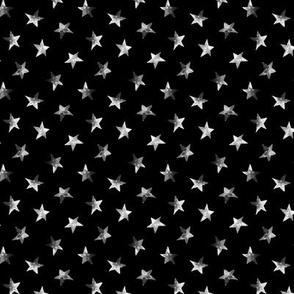 Starry night, mini scale || black sky