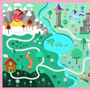 Fantasy Adventure Map