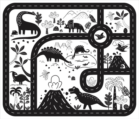 Dinosaurs Roar Playmat