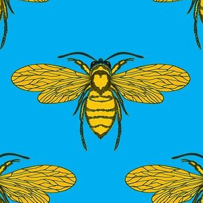 Bees Blue