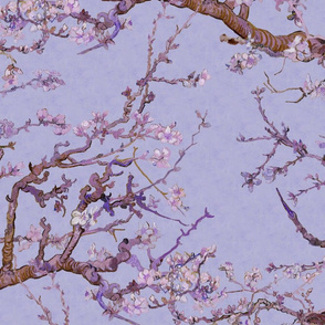 Almond Blossoms Mural ~ Van Gogh ~Twilight