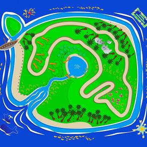 Daydreamer Island Play Mat