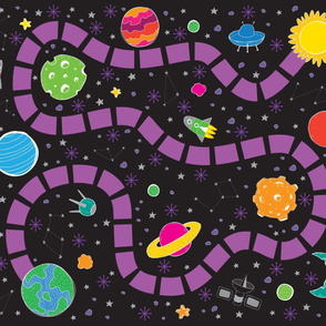 Space Travel Playmat