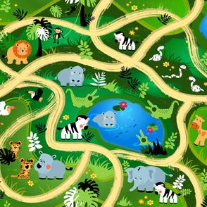 Safari Cruisin' Play Mat