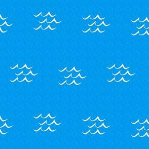 Blue Seas Island Playmat Coordinate