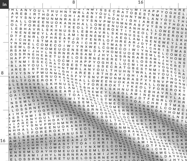 Word Search - Spoonflower