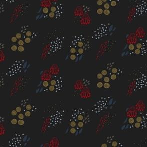 Echinacea Garden M+M Black Hole 88 by Friztin