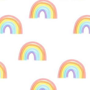 rainbows pastel - LAD19