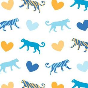 Sweet Tigers Blue