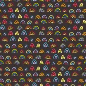 Mini Rainbows - Brown