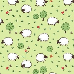 Happy Sheep from Farmland