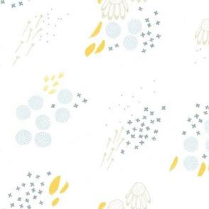 Echinacea Garden M+M White by Friztin