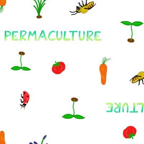 Permaculture blanc white