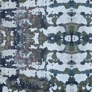 Paint bladder stone wall