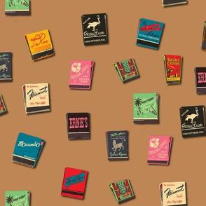 Souvenir Matchbooks Tobacco