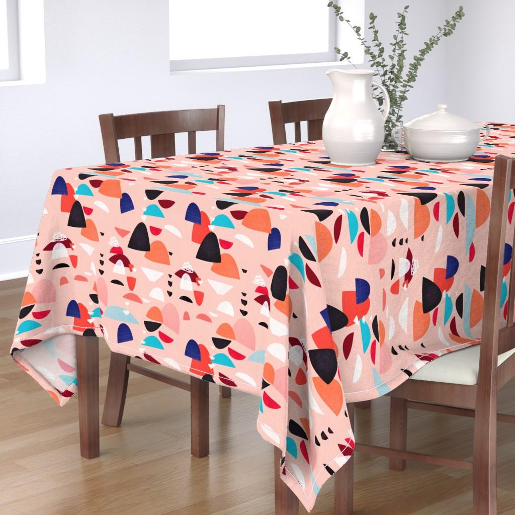 Bantam Rectangular Tablecloth featuring balderdash - large scale by bound_textiles