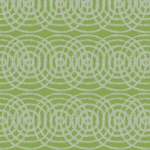 Concentric Targets and Circles Light Green - Limeade