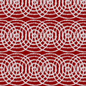 Concentric Targets and Circles Medium Red - Cherry Pie