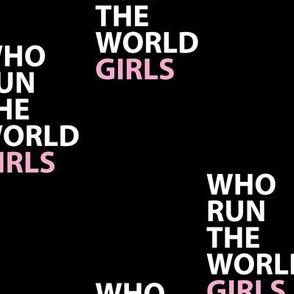 who run the world girls empowerment girl power movement black pink