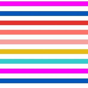 go faster stripes // horizontal stripes