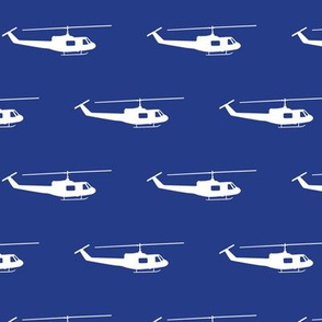 Huey Helicopters - Air Force Blue Big