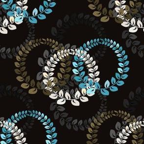 Blue Wreath Trio