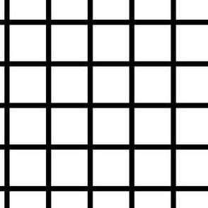 Check Black on White