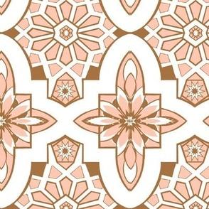 Moroccan Tile Blush pink  Marrakesh