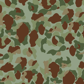 WWII   Marine and Army Camouflage