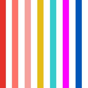 go faster stripes // Beach chair // vertical stripes // Summer stripe //