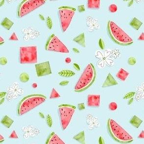 Watercolor Watermelon Scrapbook