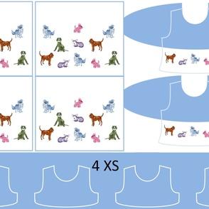 Size 4-DOG DAZE  DRESS & TANK