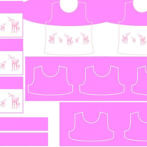 Size 4-PINK UNICORN DRESS & TANK