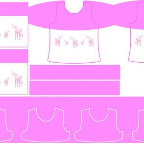 Size 5-PINK UNICORN DRESS & TANK