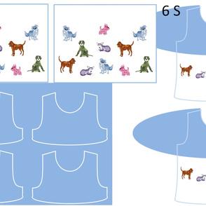 Size 6-DOG DAZE  DRESS & TANK