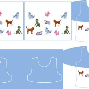 Size 7-DOG DAZE  DRESS & TANK