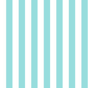 blue and white beach stripe