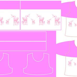 Size 7-PINK UNICORN DRESS & TANK