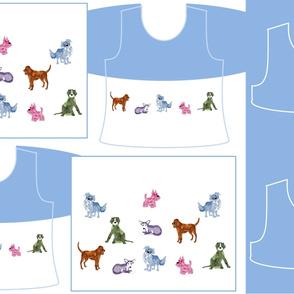 Size 8-DOG DAZE  DRESS & TANK