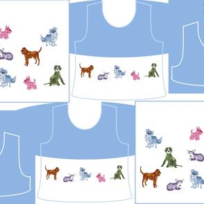 Size 10-DOG DAZE  DRESS & TANK