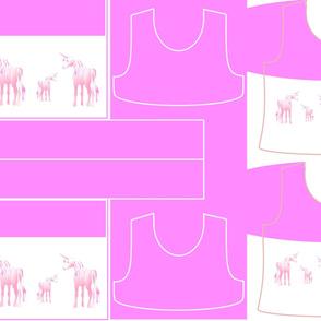 Size 10-PINK UNICORN DRESS & TANK