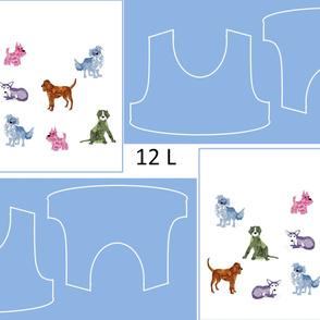Size 12-DOG DAZE  DRESS