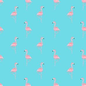 Flamingos Half Drop