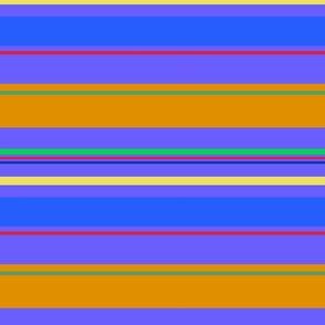 Bright Colors Horizontal Stripes
