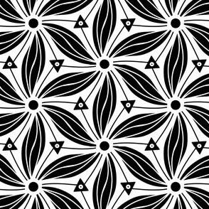 Twirling Black n white