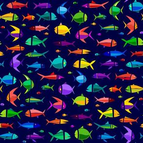 Common Fish of the MadTropic 18in dark
