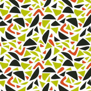 Abstract african pattern