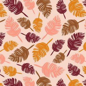 Autumn feather cream