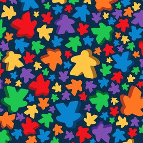 Two Pips - Falling Meeples
