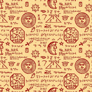 mystic musings sanguine parchment small